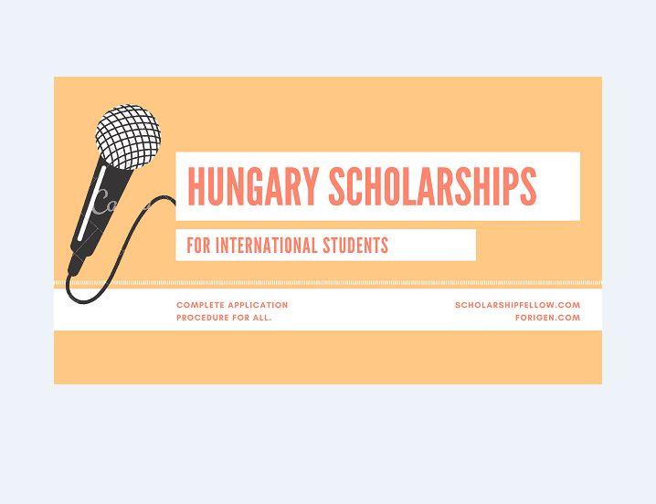 Hungarian Government Stipendium Hungaricum Scholarship