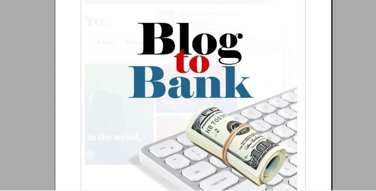 How to Make Money Blogging: Download Blog to Bank (eBook)