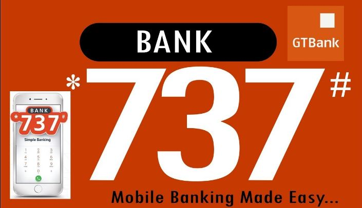 GTBank USSD Codes for Transfer, Airtime Subscriptions and