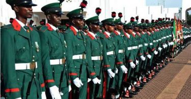 Nigerian Army List Of Shortlisted Candidates For Direct Short Service Commission Course 24, January 2019