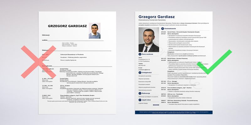 download free cv template for job applications