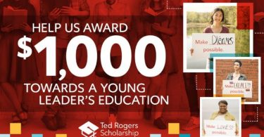 Ted Rogers Scholarships in Canada Application (Undergraduate)