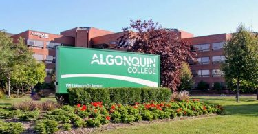 Algonquin College Scholarship For International Students in Canada