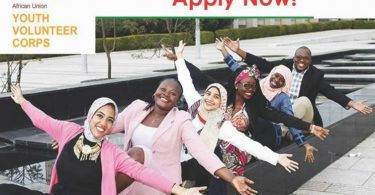 African Union Youth Volunteer Corps (AU-YVC) Programme 2019 for Young African Professionals