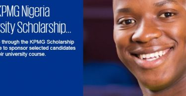2019 KPMG Nigeria University Scholarship Program for Undergraduates