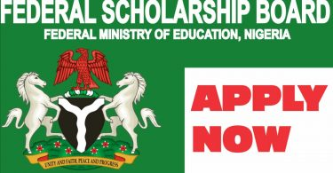 How to Apply for 2020/2021 Federal Government Scholarship Awards