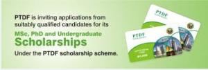 (PTDF) Scholarship For PhD