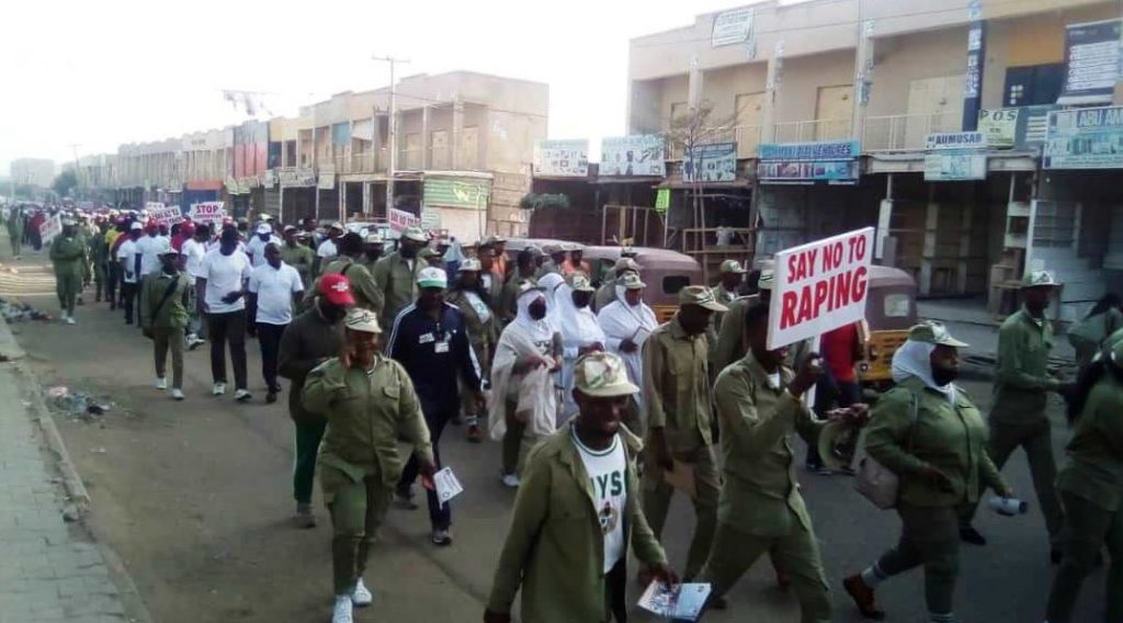 Massive Match against Corruption by the Youths and others in Kano (Video)