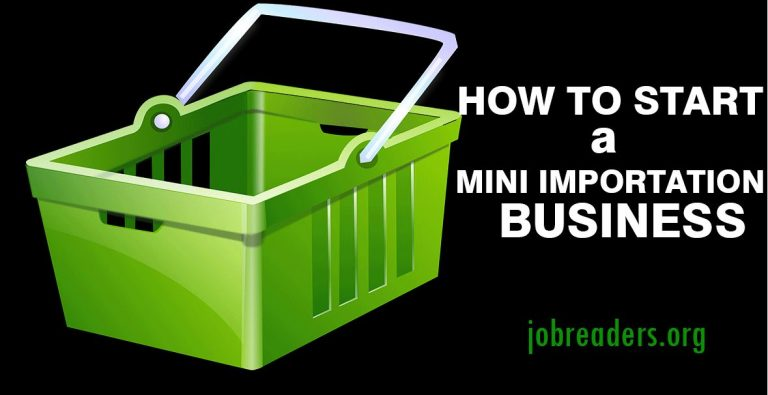 A Paying Mini Importation Business you can Start Now