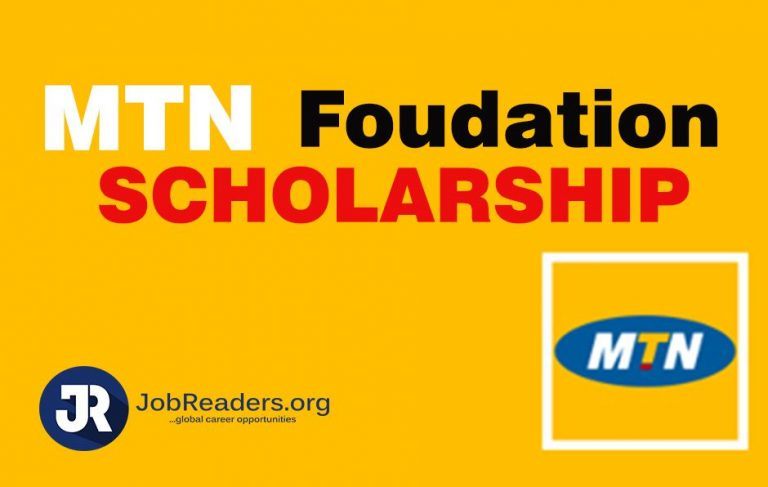 MTN Foundation Scholarship Application 2020   Nigerian Undergraduates