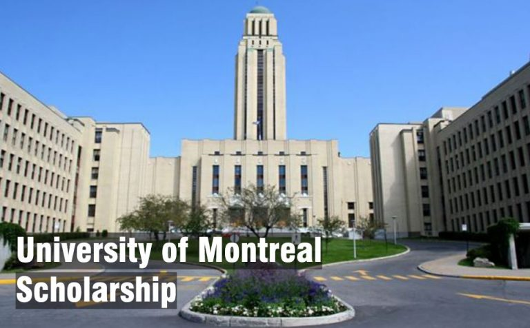 University of Montreal Scholarship 2020 for International Students