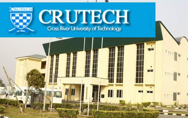 Cross River University of Technology CRUTECH Post UTME 2020-2021
