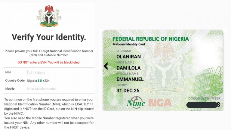 How to Download and Print the National ID Card using Android