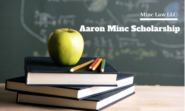 Aaron Minc's scholarship eligibility and requirements