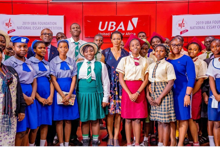 UBA Foundation Essay Competition 2020 / Scholarship for Secondary School Students