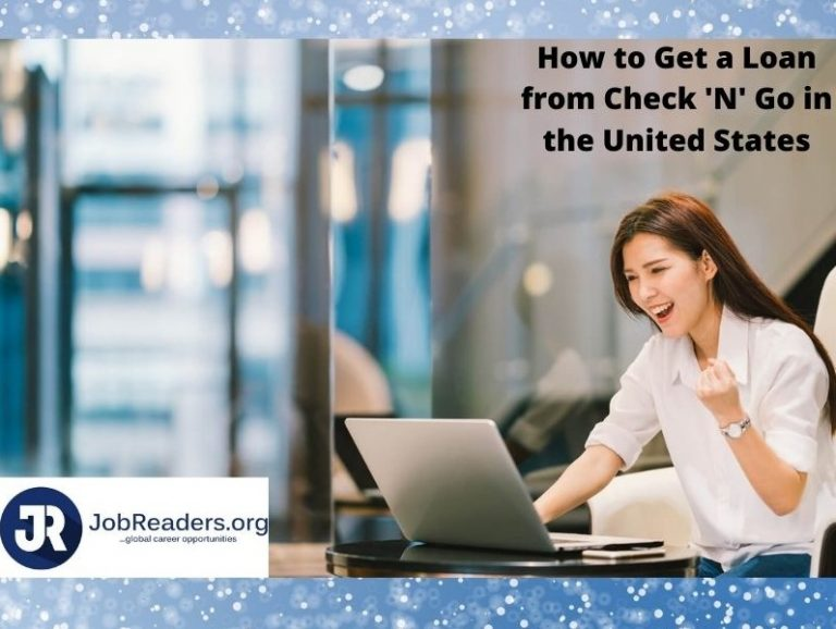 How to Get a Loan from Check 'N' Go in the United States