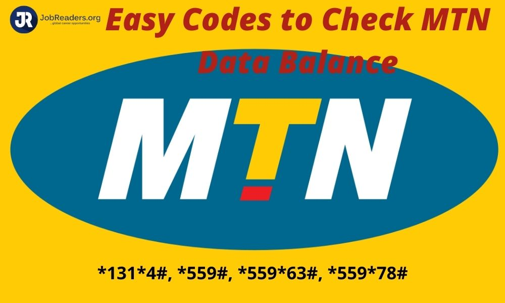 Easy Codes to Check MTN Data Balance |Updated method