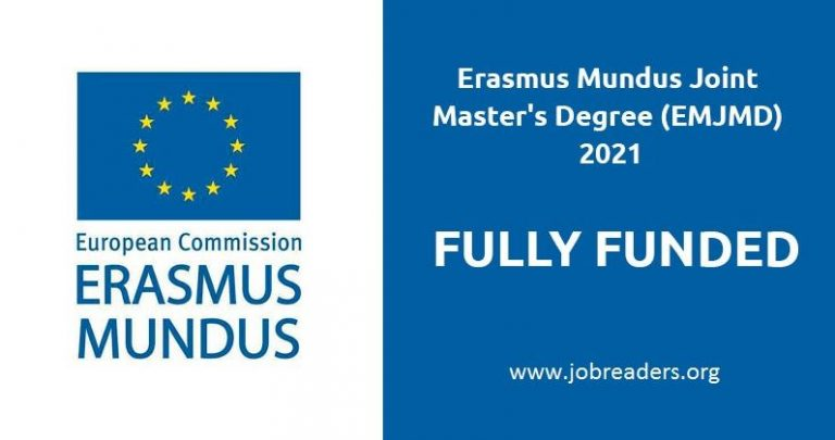 Erasmus Mundus/IMRD Scholarships 2021 for International Students