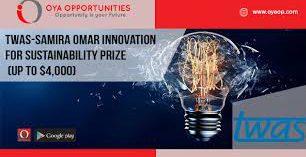 TWAS-SAMIRA OMAR INNOVATION AWARD 2021