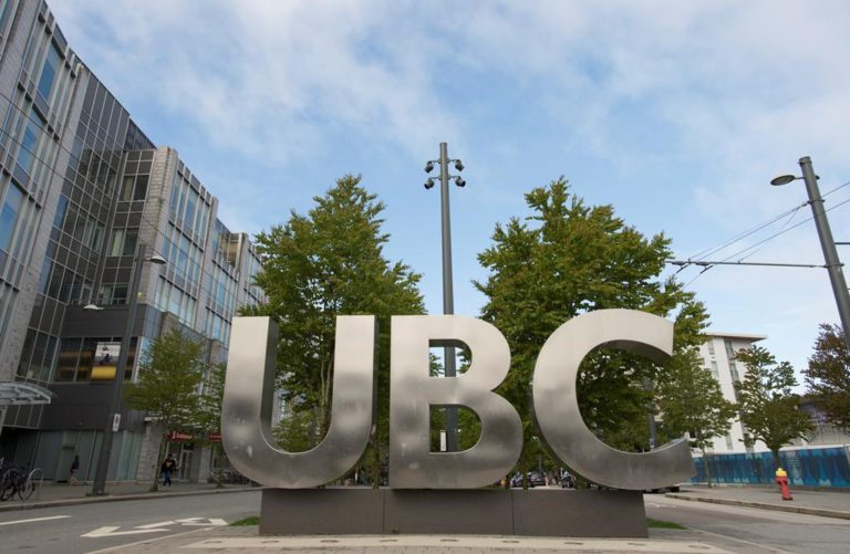 The Requirements for the University of British Columbia