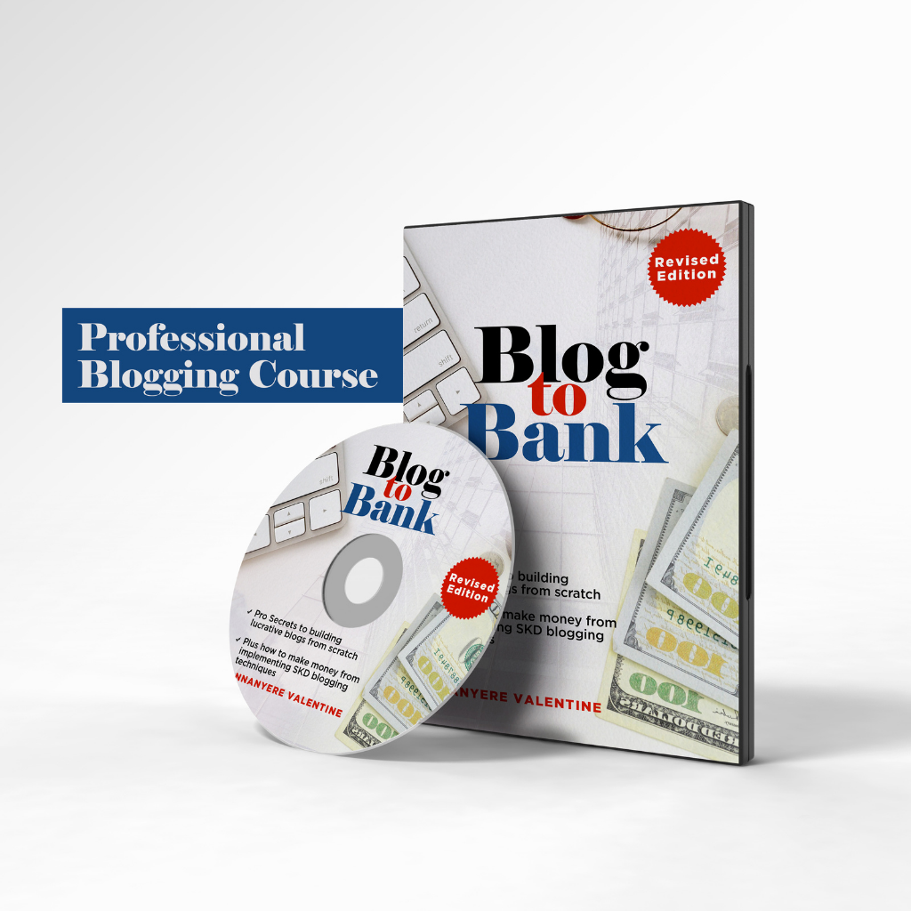 Blog to Bank - Professional Blogging Course