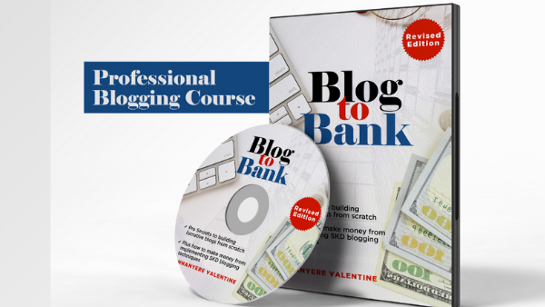 Blog to Bank is a Professional Blogging Course and full online training written by Valentine Nnanyere and packaged by Jobreaders Digital Services.